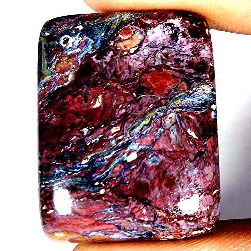 37.00Cts 100% Natural Golden PIETERSITE Cushion CABOCHON Loose Gemstones