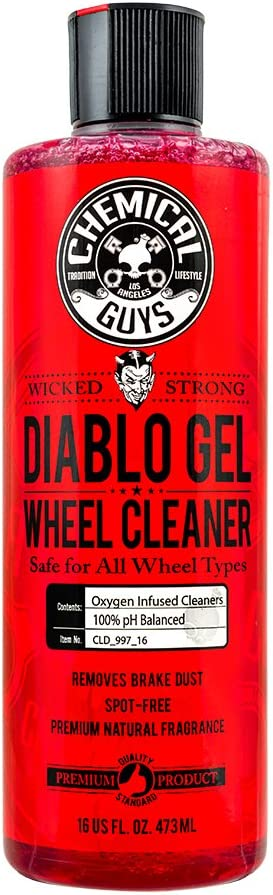 Chemical Guys CLD_997_16 Diablo Gel Wheel and Rim Cleaner (16 oz): Automotive