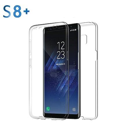 Ver funda para Samsung Galaxy S7 y Samsung Galaxy S8 Sannysis Completo Carcasas y fundas, TPU clara (Samsung Galaxy S8 Plus)