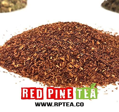 Organic Rooibos Tea Red Bush Tea, Aspalathus linearis, Decaffeinated Caffeine Free - Premium Loose Leaf Tea (5LB) by Red Pine Tea Co. (Image #1)