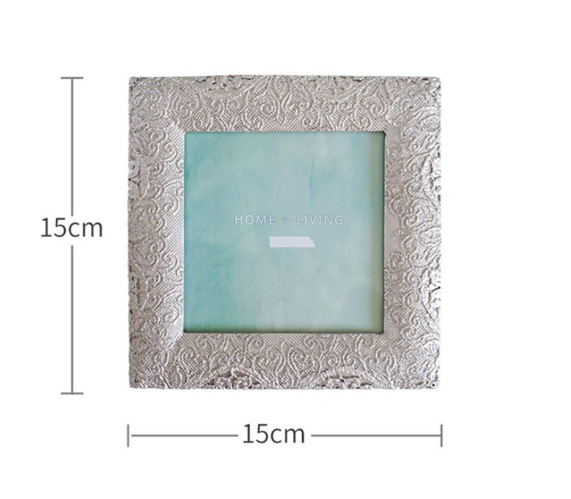 GuiXinWeiHeng £¨5pcs£Alloy metal photo frame pendulum frame , square (10 10)