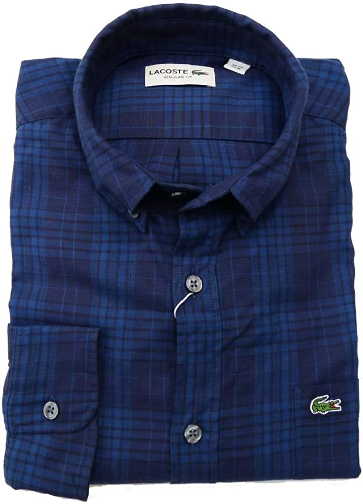 Camisa Lacoste CH3492 Azul Marino: Amazon.es: Ropa y accesorios
