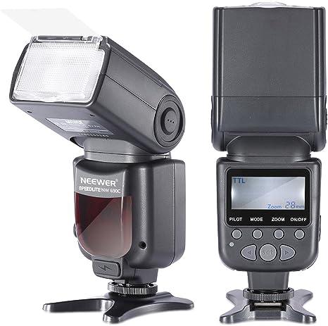 Neewer NW690/MK950II ETTL LCD Pantalla Speedlite Flash Esclavo ...