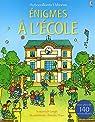 Enigmes à l'école - Autocollants Usborne par Leigh