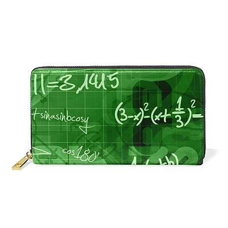 COOSUN Escuela de Matemáticas Fondo de Cuero del Monedero ...