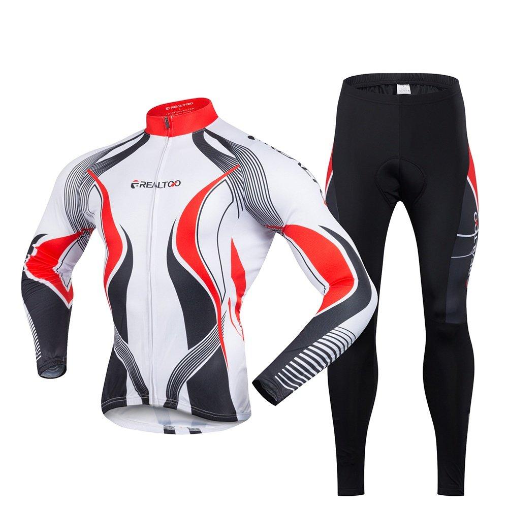 LiangyndaLian Männer Radfahren Kleidung Sets Anzug Outdoor Atmungsaktiv Schnell Trocknend Fahrrad Hosen Lässig Laufkleidung Fahrradhose