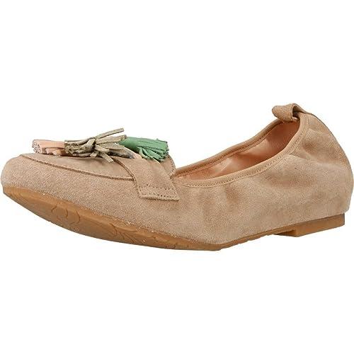 Mocasines para Mujer, Color marrón, Marca MIKAELA, Modelo Mocasines para Mujer MIKAELA 17010 Marrón: Amazon.es: Zapatos y complementos