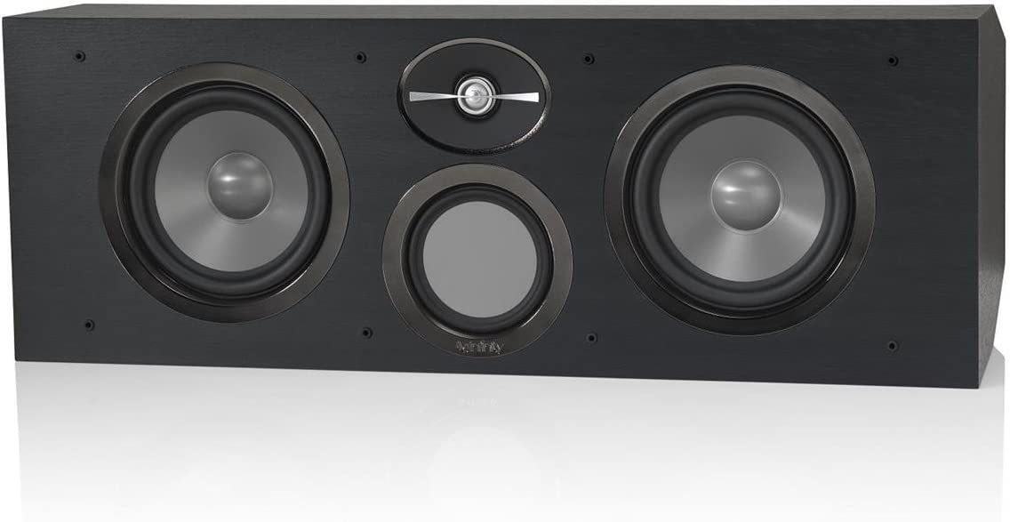 Infinity RC263 Reference Series 3-Way Center Channel Speaker – Black Each