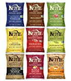 #5: Kettle Brand Potato Chips Variety Pack Sampler, Large Family Size Bags, 5 Ounce (9 Count)
