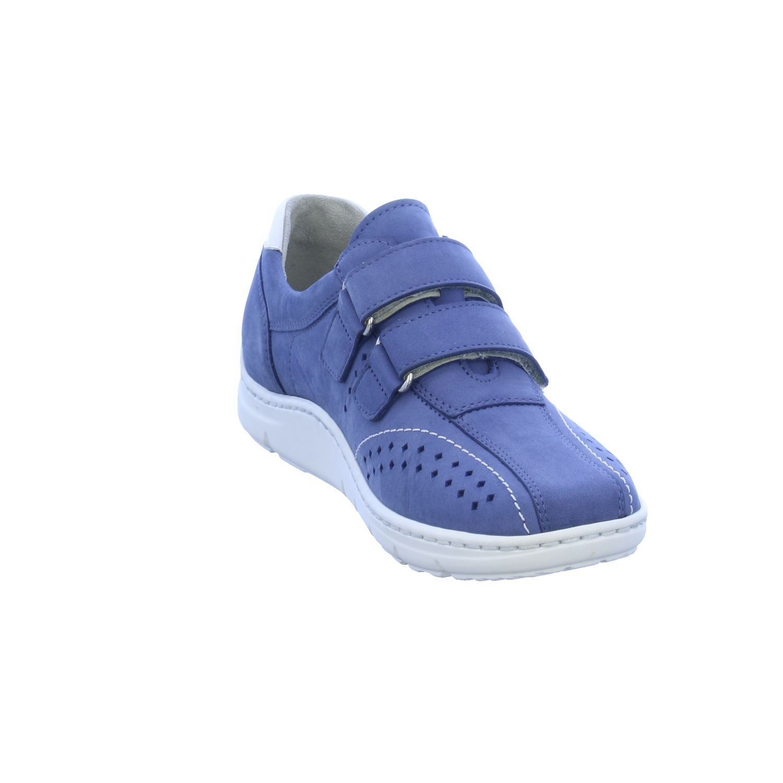 Waldläufer Damen Slipper Hassi 399301-267-132/551326935 blau 94253 94253 blau Blau d3b4df