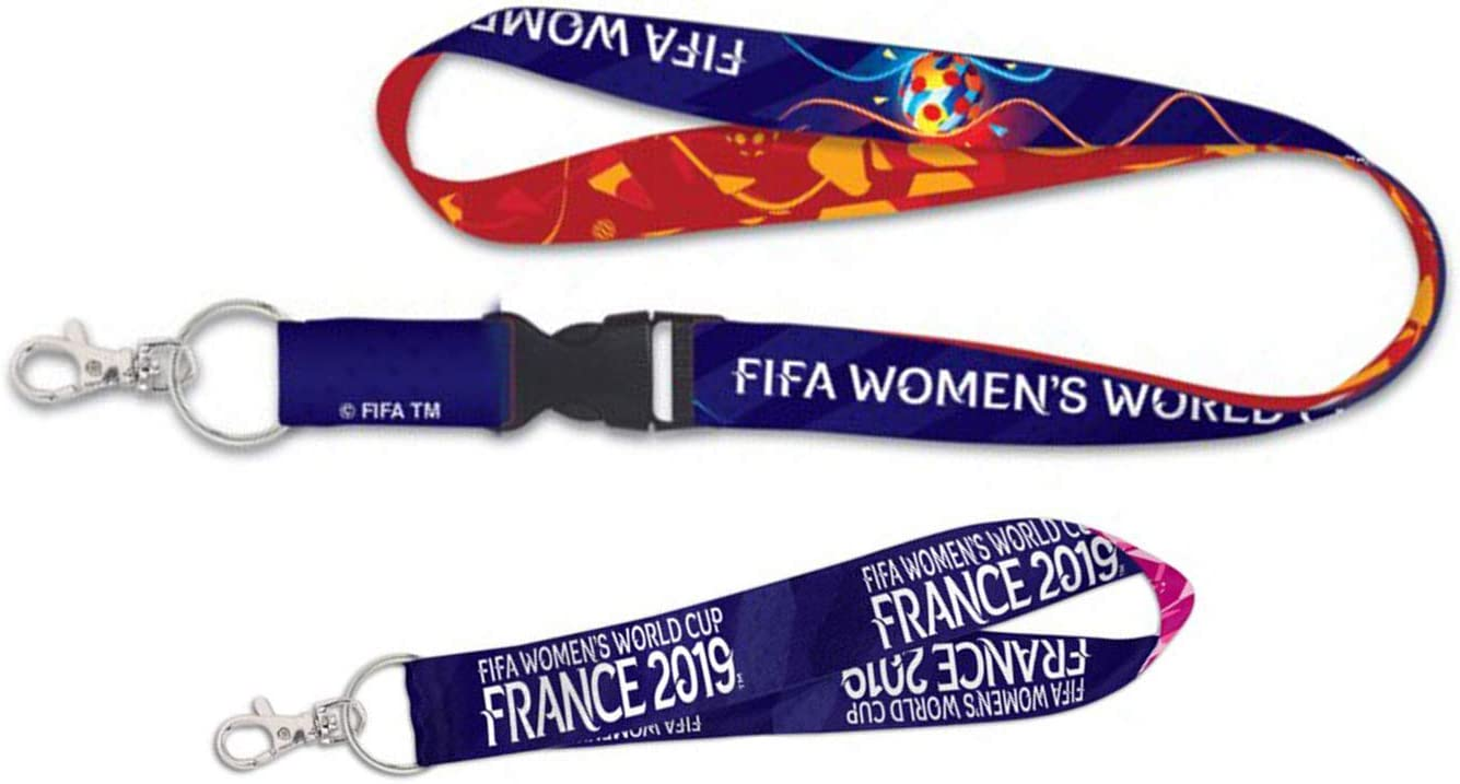 WinCraft Soccer Lanyard with Detachable Buckle