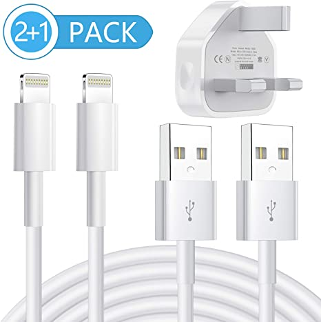Wall Charger Plug And Lightning Cable