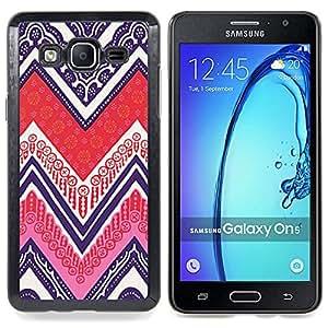 Stuss Case / Funda Carcasa protectora - Patrón Native Art Pen Poker - Samsung Galaxy On5 O5