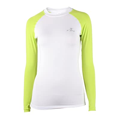 dcdf6d2144 XPRIN A100 Series Women's Long Sleeve Cool Base Layer Compression Shirt  Sports Wear