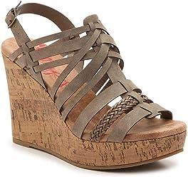 df238b5fe1b4 Jellypop Annie Womens Wedge Sandals
