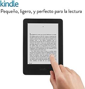 Kindle, pantalla E-ink sin reflejos, batería que dura semanas, Wi-Fi, [Modelo Anterior]