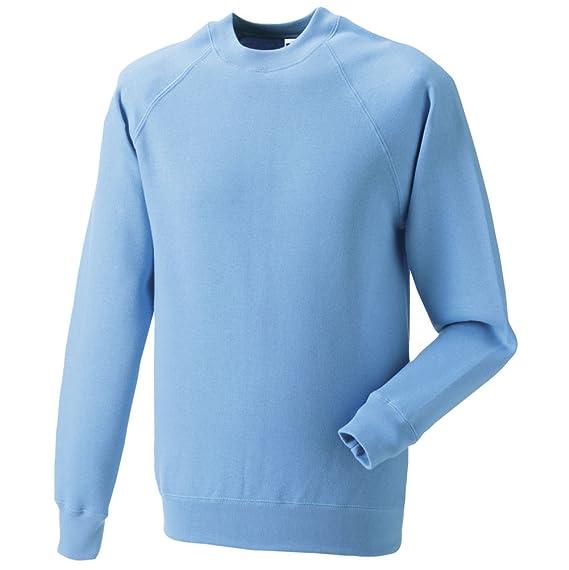 Russell Jerzees Schoolgear 762B Kids Childrens Classic Raglan Sleeve Sweatshirt French Navy 9 10 Years