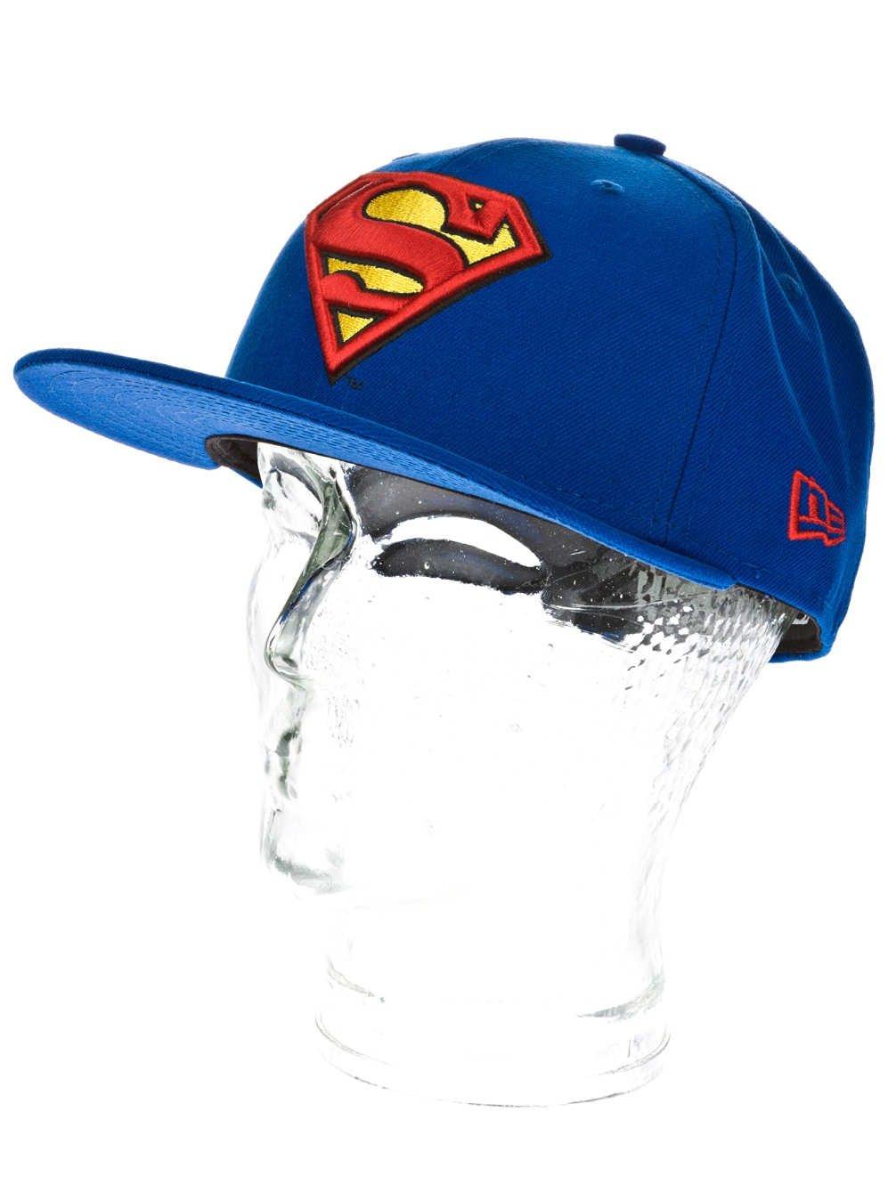 New Era - Character Basic Superman 5Fifty Fitted, Baseball beretto da uomo 10862337
