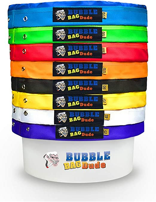 Amazon.com: bubblebagdude 20 Galón 8 Bag – Juego Herbal ...