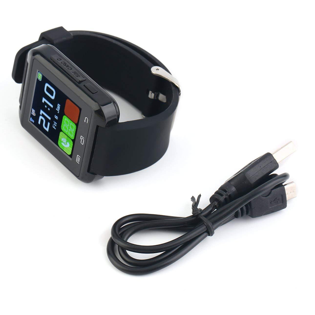 Amazon.com: Liobaba Bluetooth SmartWatch GSM SIM Card Slot ...