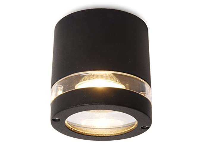 Exterior Focus - Lámpara con bombilla LED, Antracita, IP44 ...