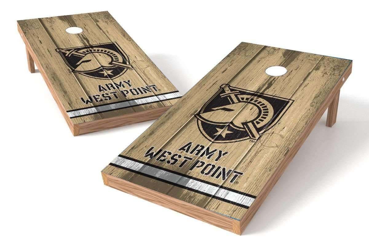 PROLINE NCAA College 2' x 4' Army Black Knights Cornhole Board Set - Vintage by PROLINE (Image #1)