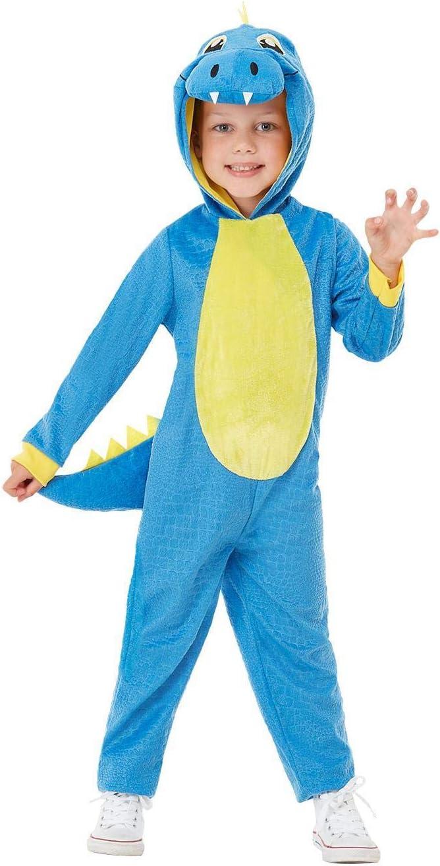 Smiffys 47710T1 - Disfraz de dinosaurio para niño pequeño, unisex ...