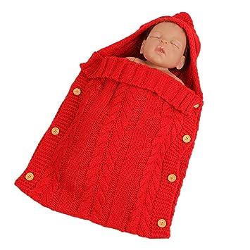 Beatalvy Colorido bebé recién Nacido Wrap Swaddle Manta, bebé niños niño pequeño Tejido Manta Swaddle