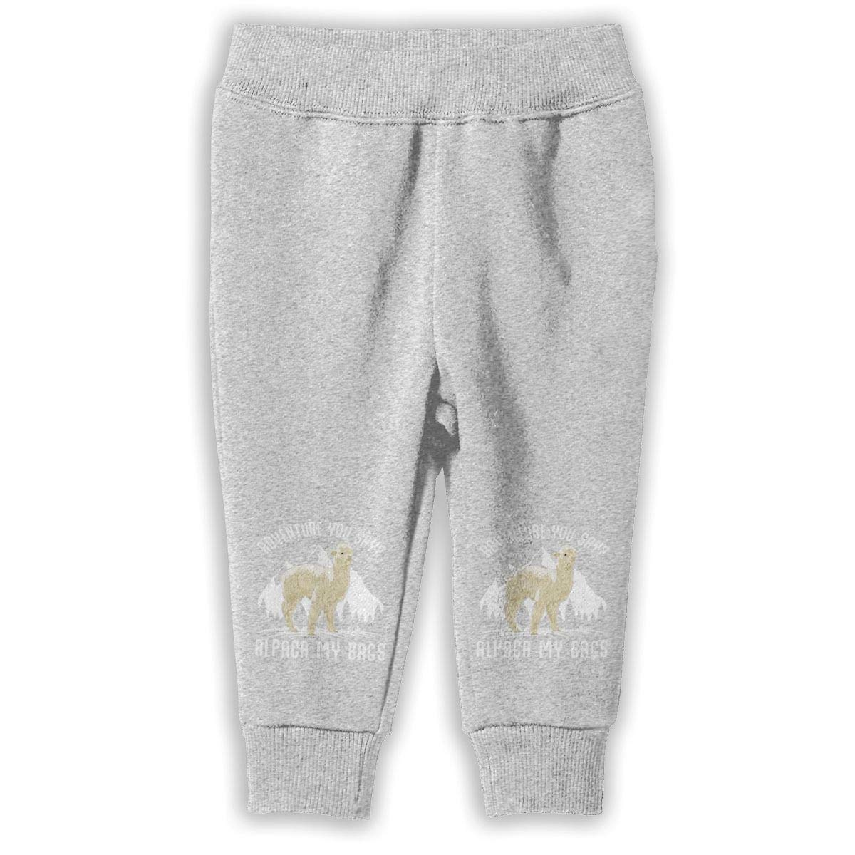 Adventure Alpaca My Bags Unisex Baby Pants Classic Baby Boy Jogger Play Pant