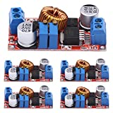 UEB 5Pcs Constant Current and Voltage 5A LED Driver Battery Charging Module