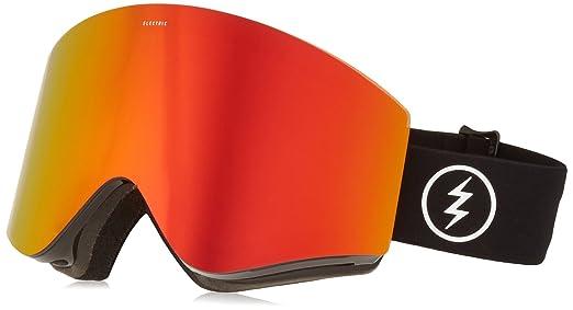 66931b288e12 Amazon.com   Electric Visual EGX Gloss Black Jet Black Snow Goggle ...