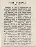 James Cash J.C.€ Penny (d.1971) Typed Signed