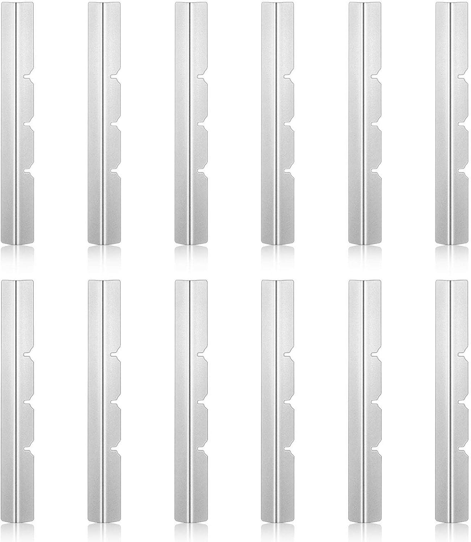 12 Pezzi Porta Stoppino Candela in Metallo Dispositivo di Centraggio Stoppini Candela in Metallo Barra Soppino Forniture Stoppini Candele in Metallo per Fabbricazione Candele Fai-da-Te
