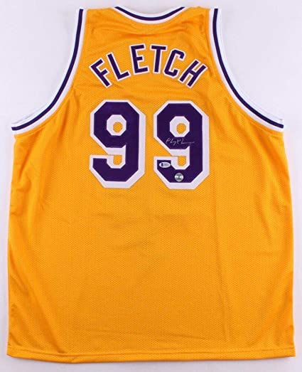 07371fd0fb13 Image Unavailable. Image not available for. Color  Chevy Chase Autographed  Signed Memorabilia Lakers Fletch Jersey ...