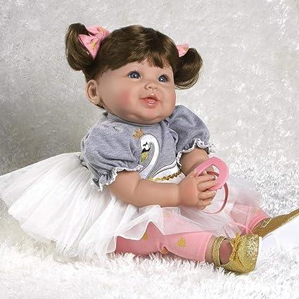 Baby Dolls 16-Inch White Lovely Girl for Children Vinyl Ballet