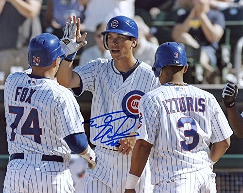 (TYLER COLVIN CHICAGO CUBS SIGNED AUTOGRAPHED 8X10 PHOTO)
