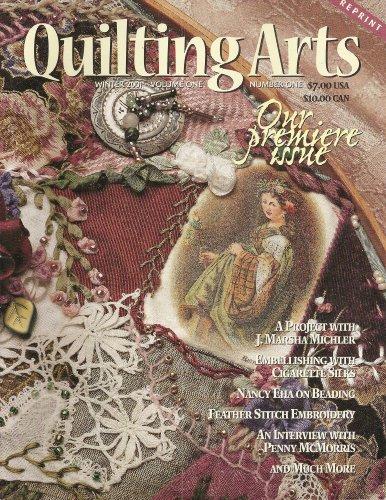 Magazine Arts Quilting Stitch (Quilting Arts Magazine Winter 2001 Volume One Number One REPRINT (1))