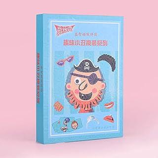 Honey MoMo Puzzle e Magic Cubes, Divertente Fumetto Magnetico Pagliaccio Jigsaw Puzzle Giocattoli Fai da Te per Bambini educativi Regalo di Natale per Bambini e Ragazzi Ragazzi e Ragazze