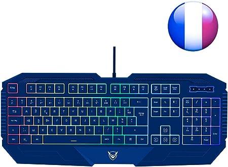 Teclado mecánico para gamer programable, PICTEK, teclado ...