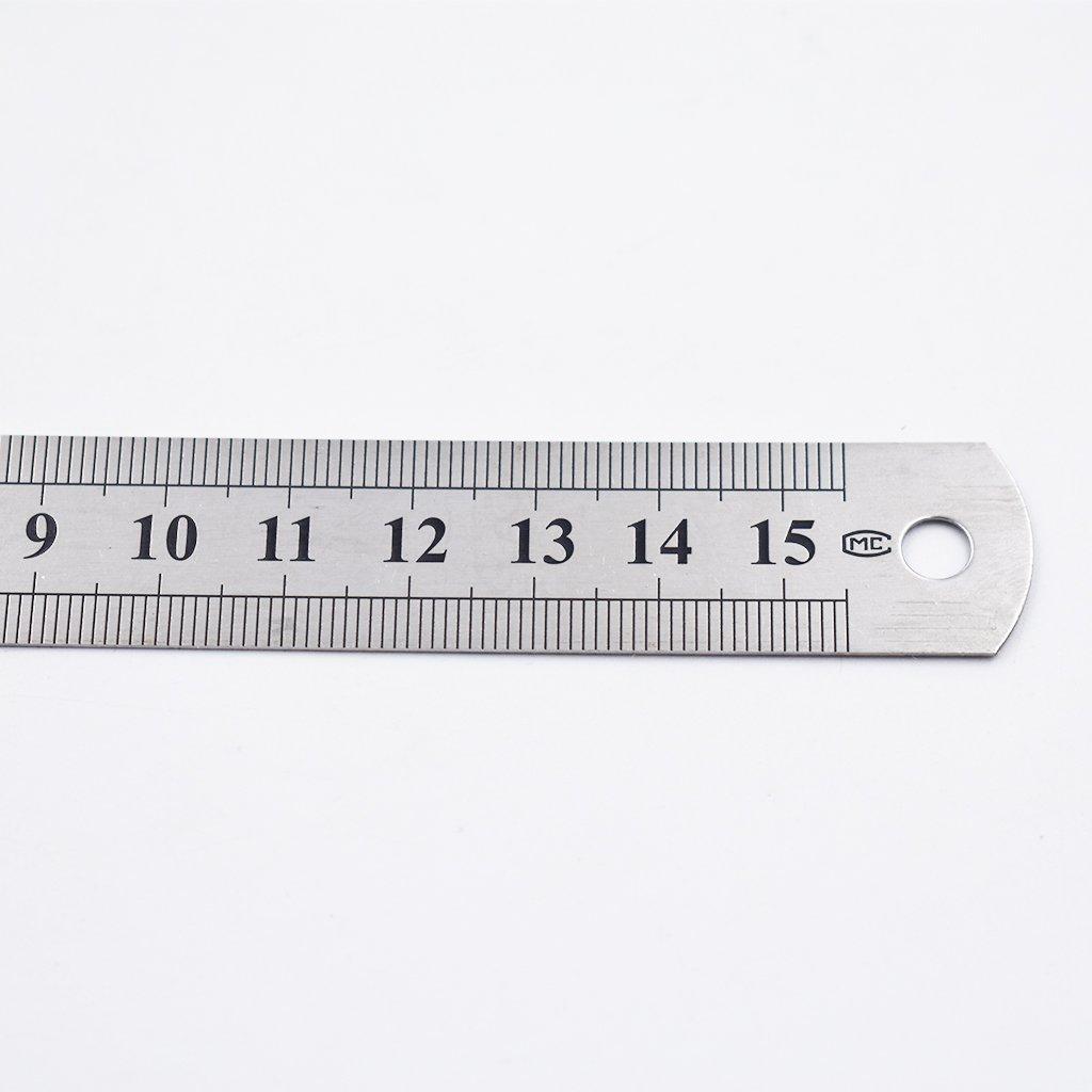 15 cm Kcopo stainless steel straight ruler metric