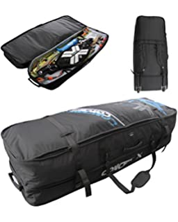 Concept X Kitebag Travel Beach Pro Funda para tabla de snowboard, Negro , 157