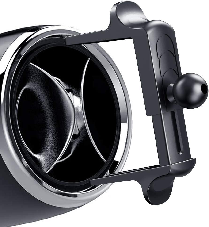 Soporte para rejilla de ventilación redonda para Mercedes-Benz E Clase C Gla200glc260c260e300a200l, Ford Mustang, Audi A3 S3, Volkswagen Tiguan, Suzuki Swift, Suzuki Vitara