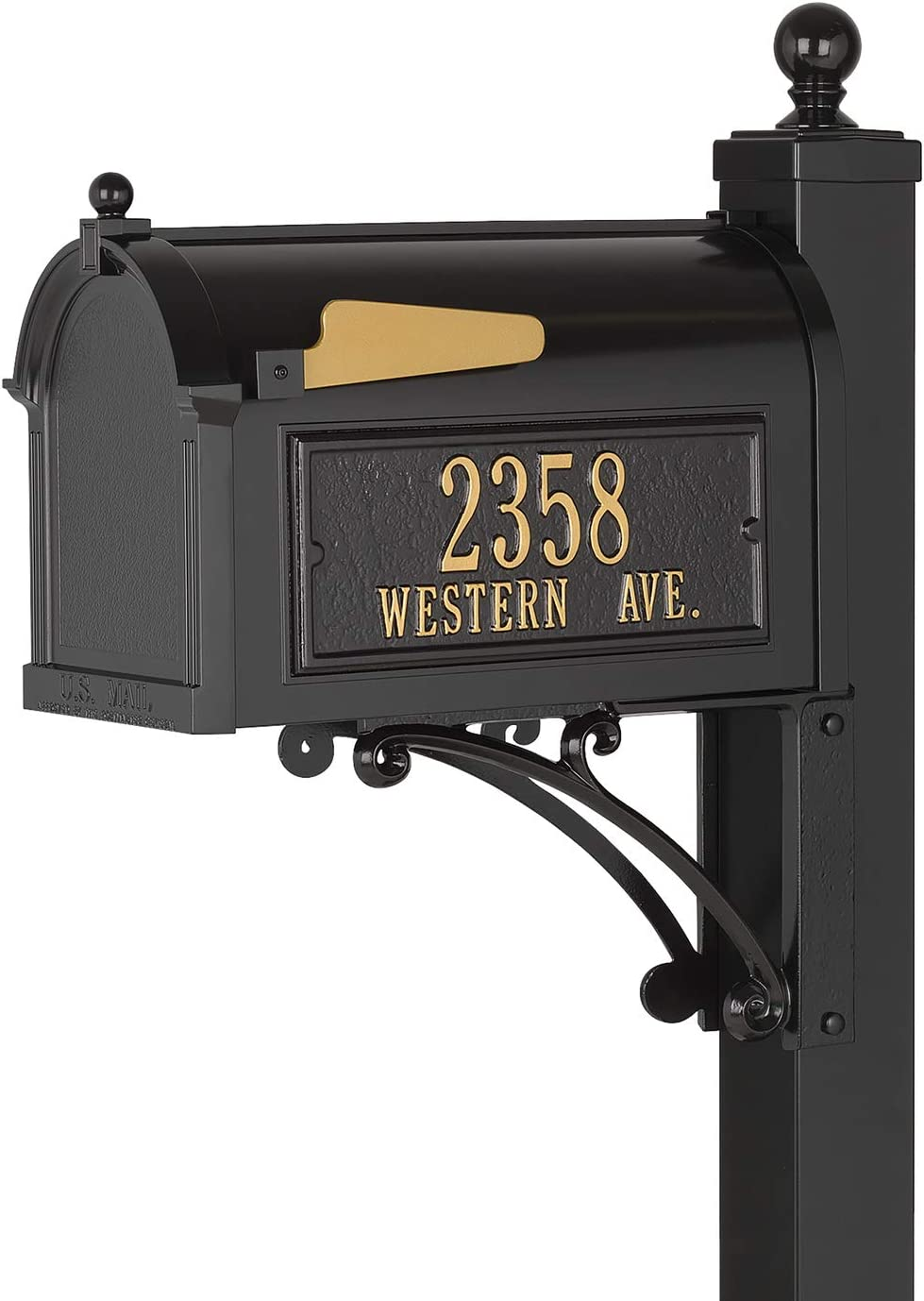 new mailbox for decorating landscape and curb appeal