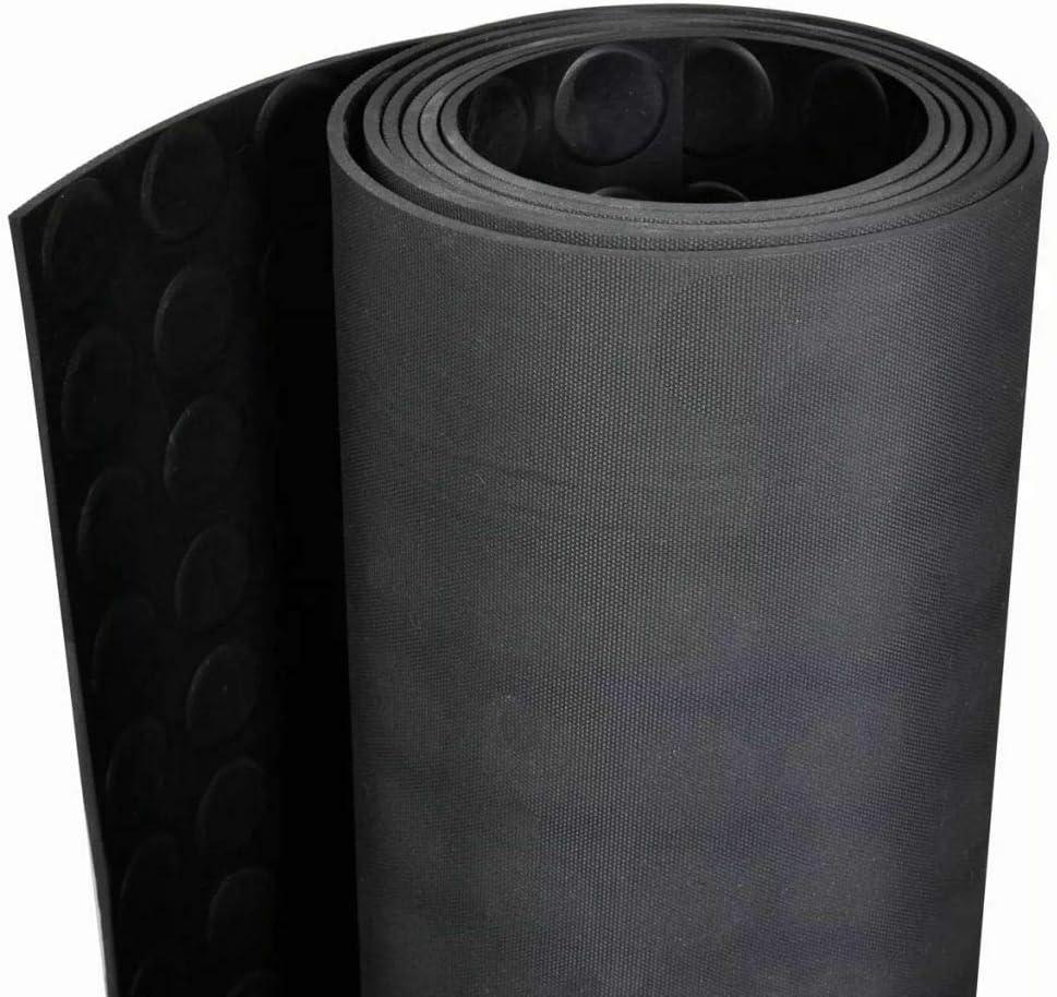 9 Epaisseurs au m/ètre Palette Rouleau Caoutchouc Antid/érapant Feuille de Caoutchouc NR//SBR Epaisseur 4mm Plaque en Caoutchouc pour Projet Bricolage 120x100 cm Garage