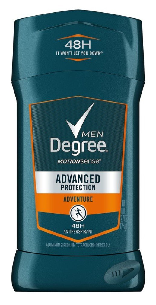 Degree Men MotionSense Antiperspirant Deodorant Adventure 2.7 oz(Pack of 6)