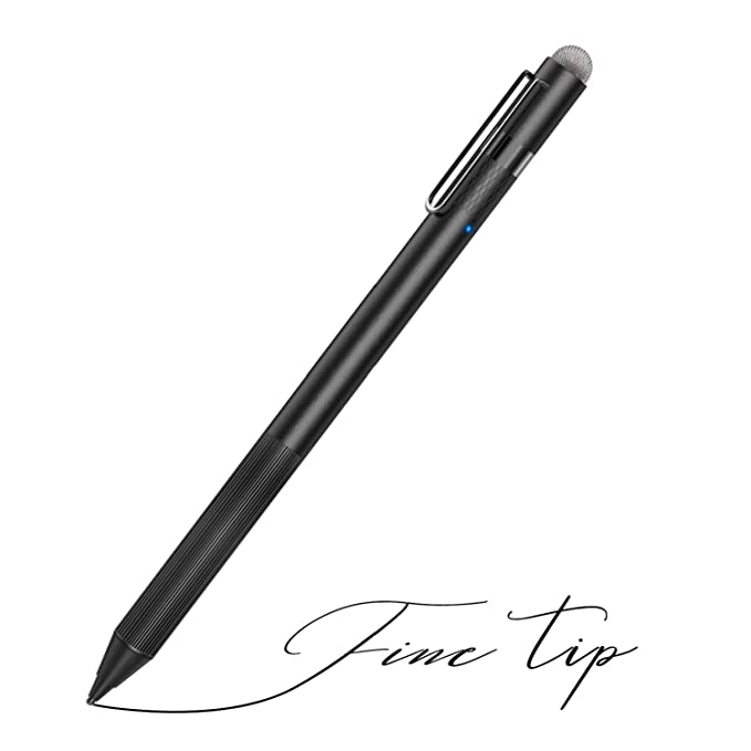 MEKO Stylus Pen for Apple iPad with Fine Tip Pencil Perfect for Drawing and Handwriting Compatible with W/iOS and Andriod Touchscreen Cellphones Tablets(Black) Computers & Accessories Tablet Accessories