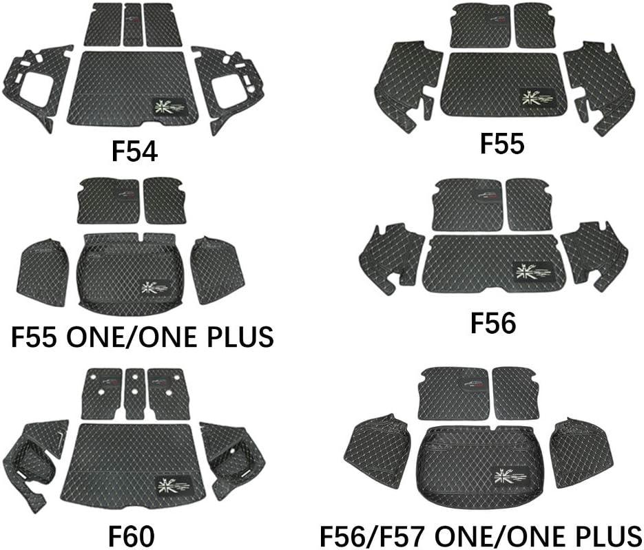 tappetino impermeabile per bagagliaio posteriore copertura completa F54 Heinmo per Mini Cooper F54 F55 F55one//one Plus F56ONE F57ONE//ONR Plus F60 R55 R56 R60 Hatchback