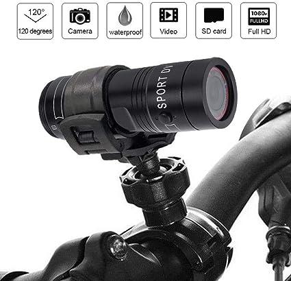 Torcia elettrica Impermeabile 170 /° A Topiky 1080P 30FPS HD Action Camera videocamera ad Alta risoluzione grandangolare per Lo Sport in Bicicletta allAria Aperta