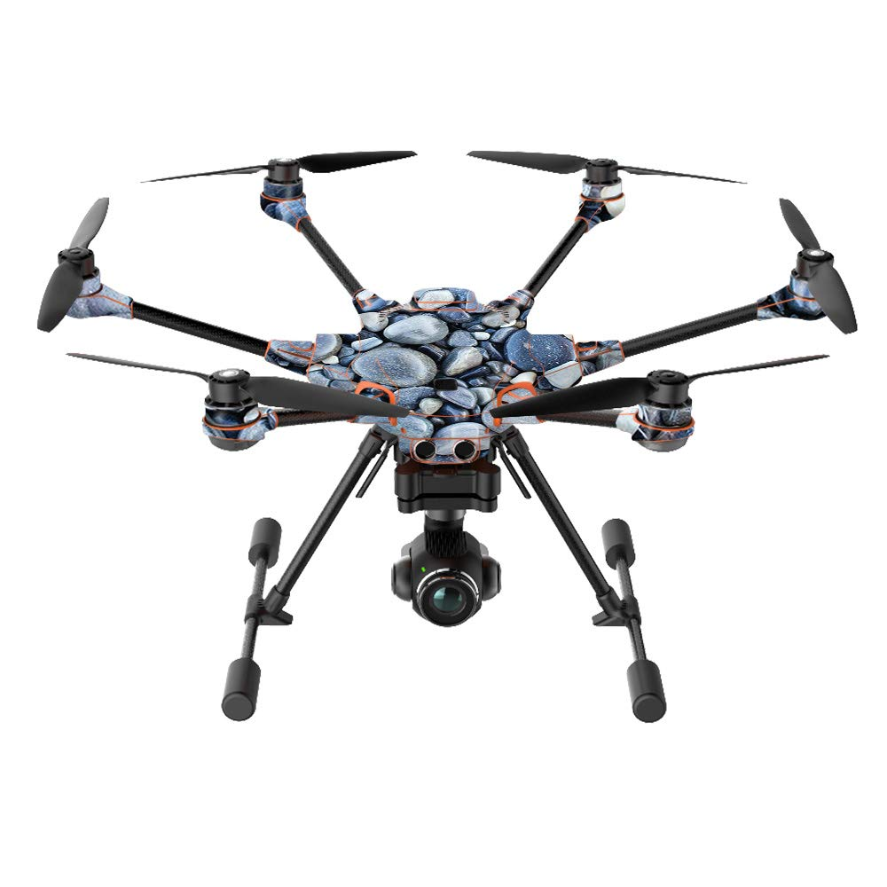 MightySkins Skin Compatible with Yuneec H520-G Quadcopter Drone - Rocks | Protective, Durable, and Unique Vinyl Decal wrap Cover | Easy to Apply, Remove, and Change Styles | Made in The USA