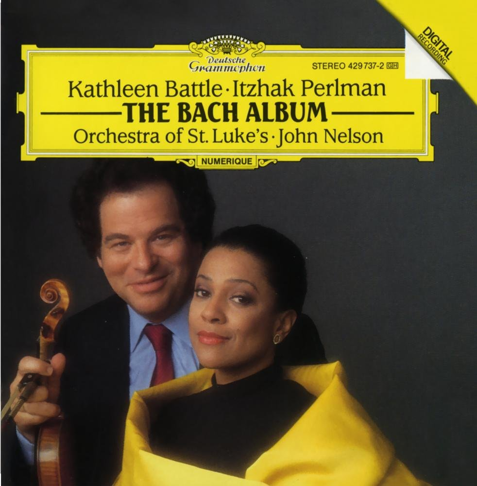 J.S. Bach: Arias for Soprano and Violin by Deutsche Grammophon
